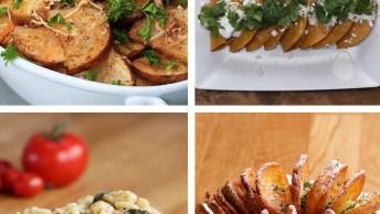 Ideias De Receitas Para Fazer Com Batatas, Uma Delicia Atras Da Outra!