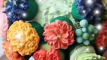 Ideias Geniais Para Decorar Seus Cupcakes, Você Vai Se Apaixonar Por Essa Ideia!