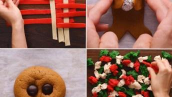 Ideias Super Criativas De Biscoitos Para O Natal, É Um Mais Lindo Que O Outro!