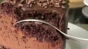 Imagens De Bolo Pudim De Chocolate, Um Mega Bolo Para Dar Água Na Boca!