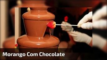 Imagens De Morango Com Chocolate, Compartilhe E Marque Quem Ama!