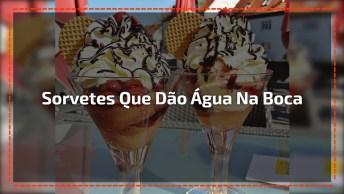 Imagens De Sorvetes Que Dão Água Na Boca, Veja Que Delicia!