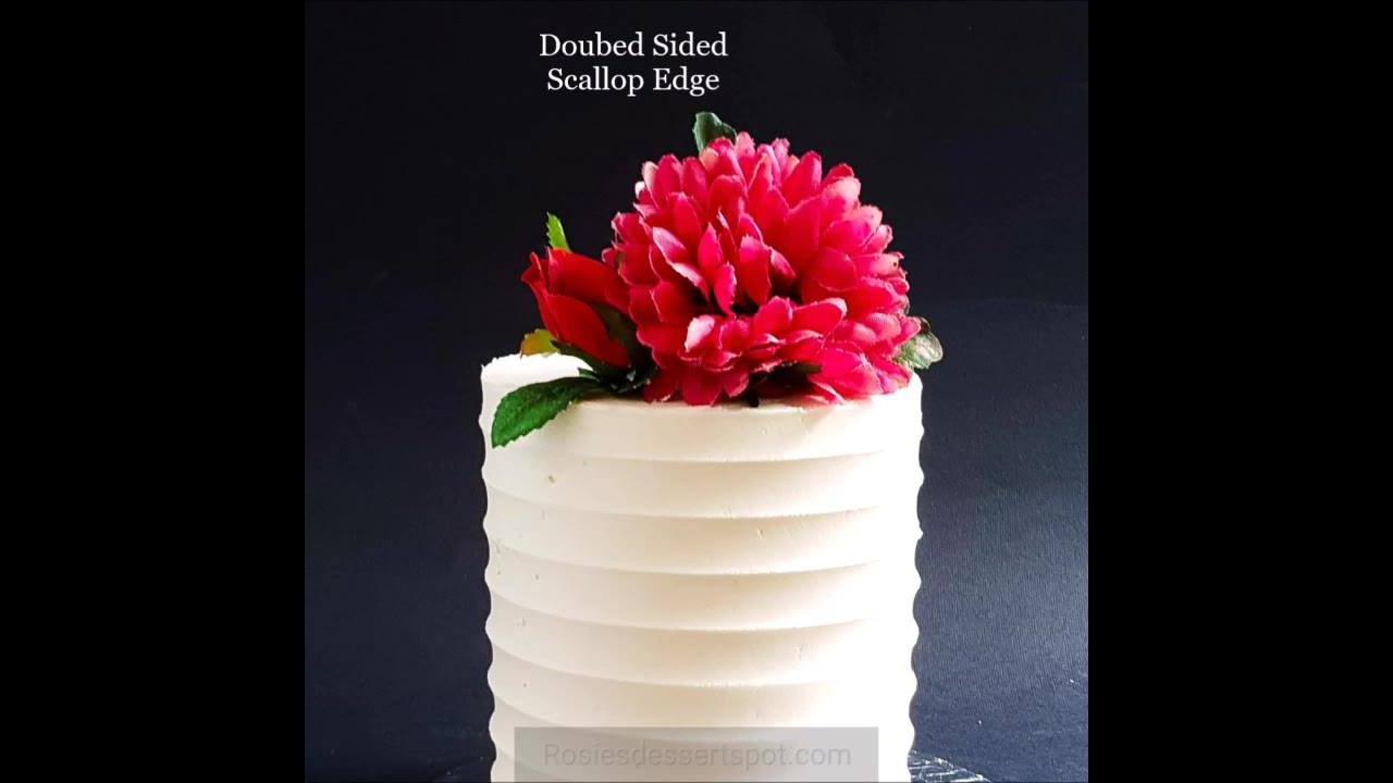 Jeito mais simples de decorar bolos redondos nas laterais