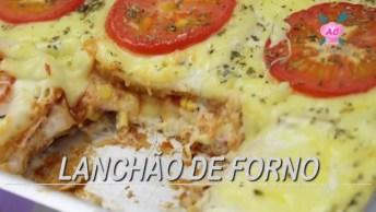 Lanchão De Forno - Uma Alternativa Para Variar No Cardápio!