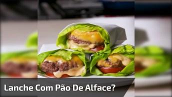Lanche De Folha, Sem Pão E Super Saudável, Confira E Compartilhe!