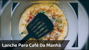 Lanche Para O Café Da Manhã Que Ajuda A Emagrecer, Uma Receita Ótima!