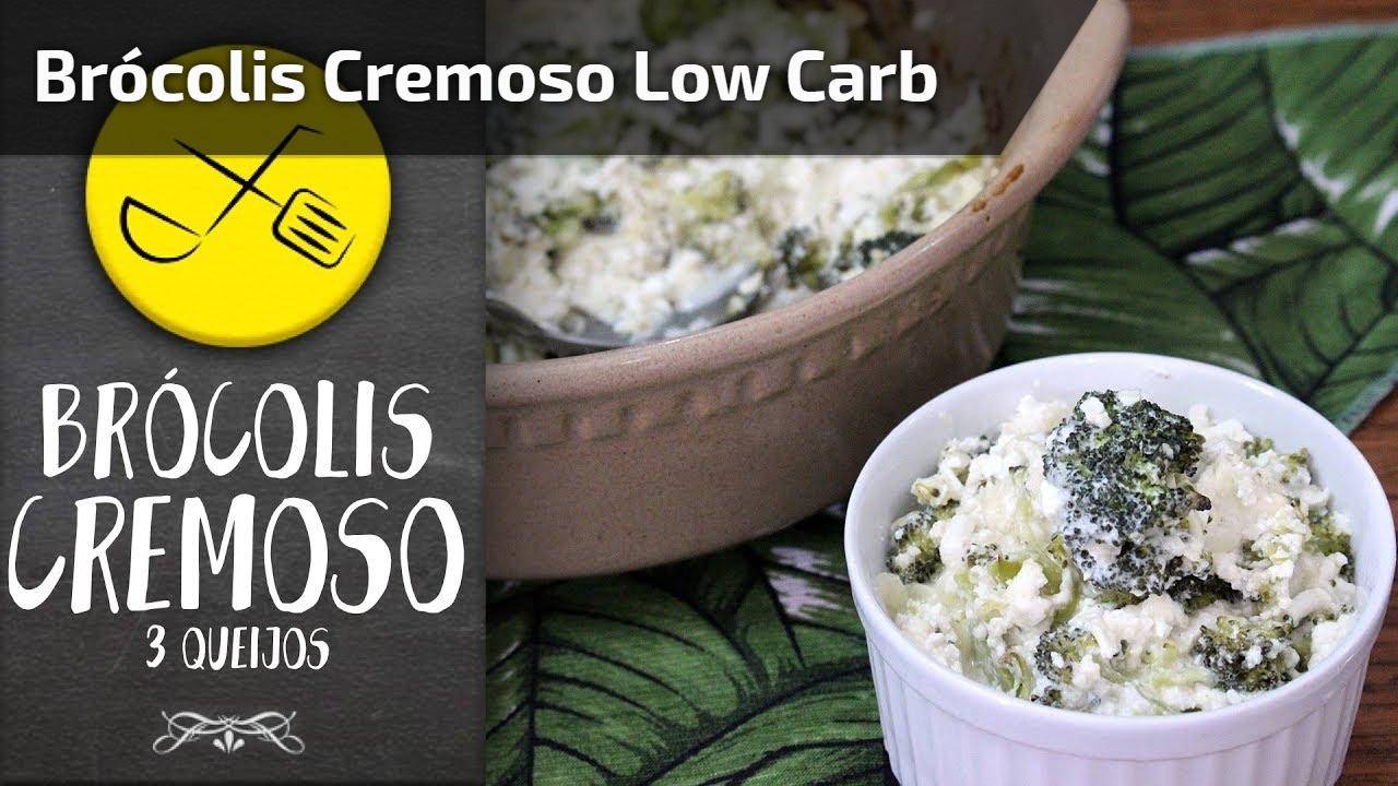Brócolis Cremoso Low Carb