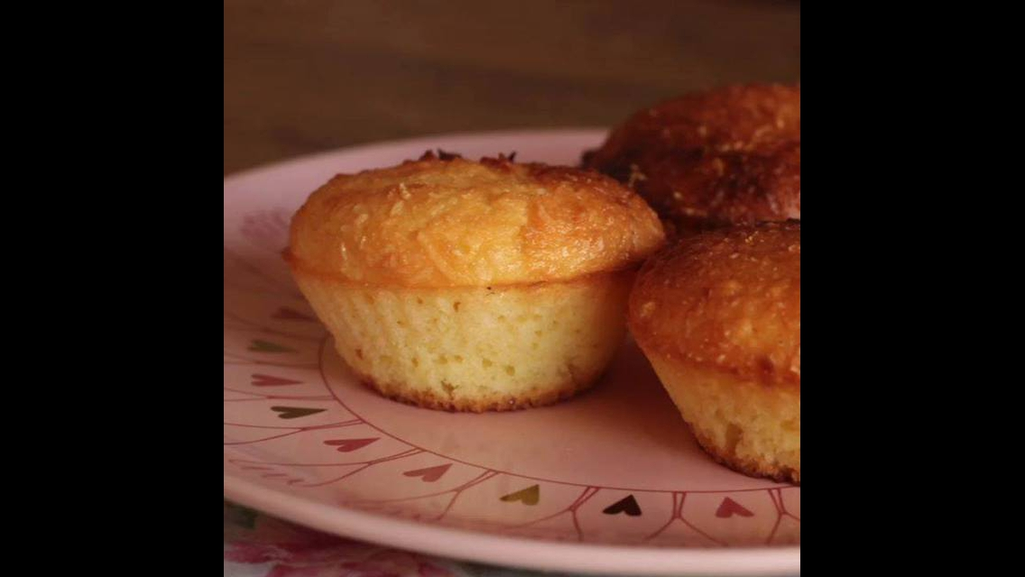 Low Carb - Aprenda a fazer uma queijadinha super Light e uma delicia!