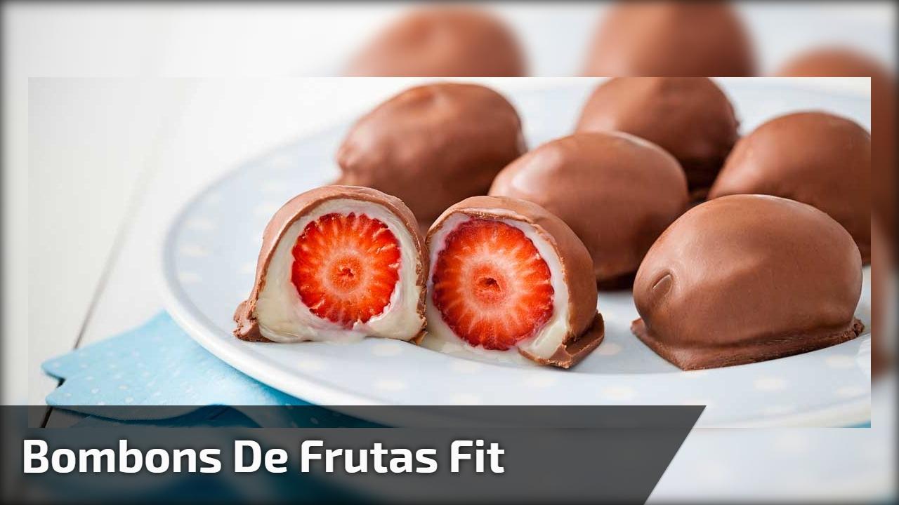Bombons de frutas fit