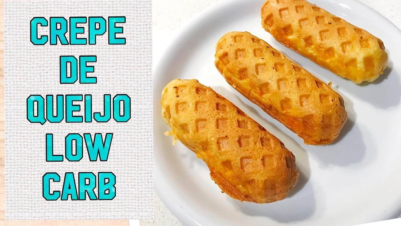 Low Carb - Crepe de queijo, mais uma delicia para você