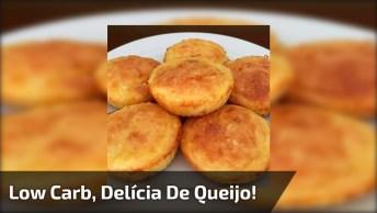 Low Carb - Delícia De Queijo Fácil De Fazer, Confira E Compartilhe!