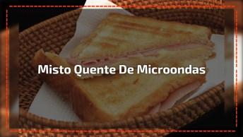 Low Carb - Misto Quente De Microondas, Perfeito Para Seu Lanche Da Tarde!