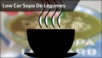 Low Carb - Sopa De Legumes Batida No Liquidificador, Fica Uma Delicia!