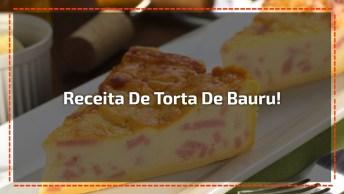Low Carb - Torta De Bauru Super Gostosa E Leve, Aprenda Agora Mesmo!