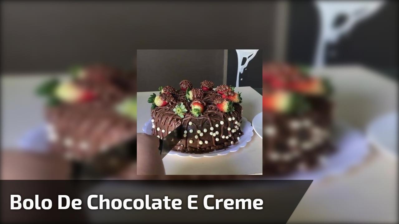 Marque suas amigas neste vídeo com bolo de chocolate maravilhoso!!!