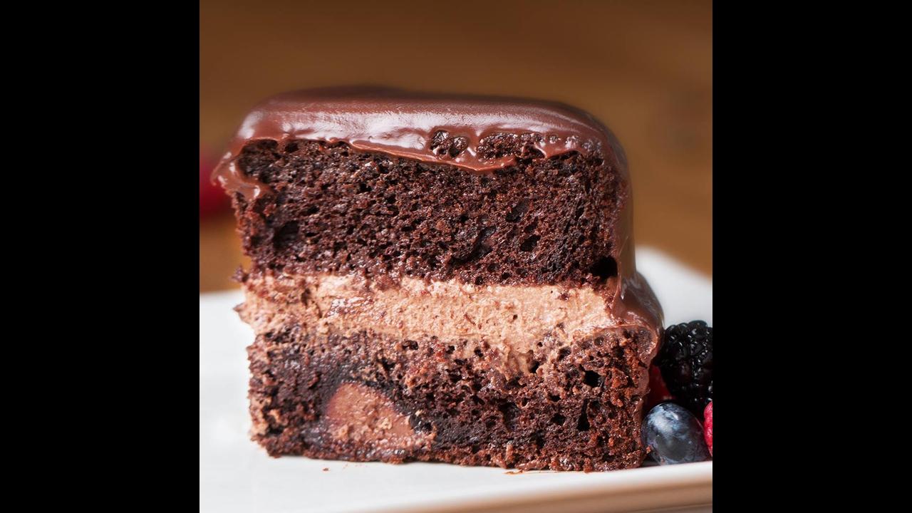 Melhor bolo de chocolate com Nutella