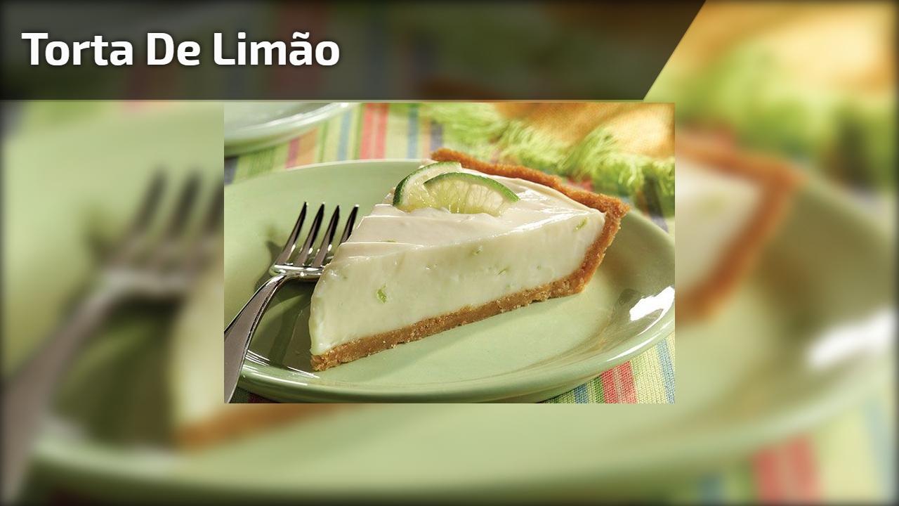 Melhor Receita de Torta de Limão - Uma sobremesa maravilhosa!