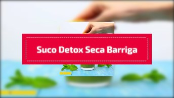 Melhor Suco Detox Seca Barriga, Para Te Ajudar Perder Peso!
