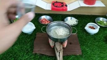 Miniatura De Comida, Mais Um Vídeo De Mini Cozinha Para Você Conferir!