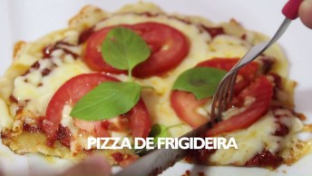 Modo De Preparo De Pizza De Frigideira, Uma Delicia De Fazer!
