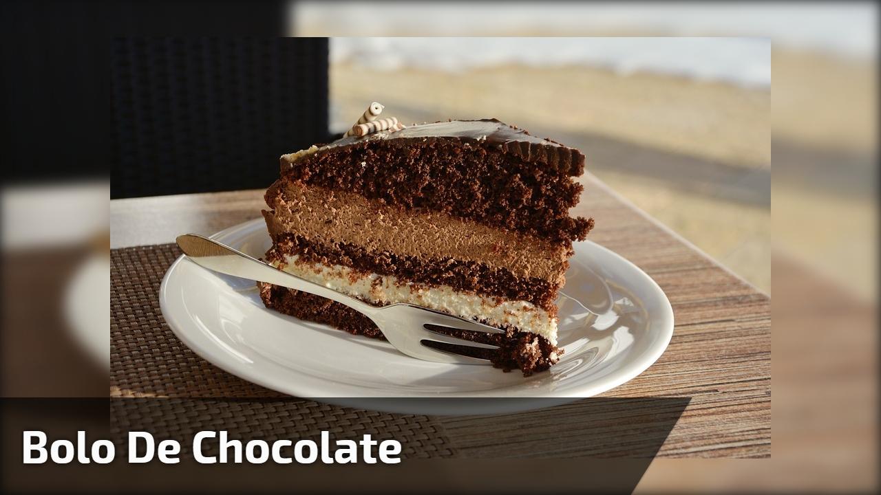 Modo de preparo de um bolo de Sonho de Valsa, parece muito bom!