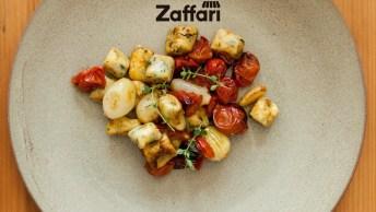 Nhoque Com Espinafre E Molho De Tomatinhos Cereja, Uma Receita Fácil!