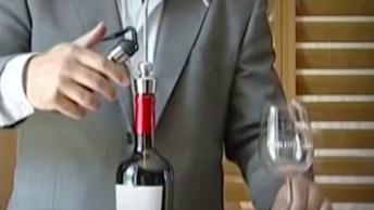 Novo Sistema Para Servir E Conservar O Vinho Até Por 20 Dias Após Aberto!