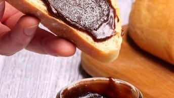 Nutella Caseira - Mais Saudável E Ainda Mais Gostosa, Confira!
