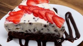 O Cheesecake De Chocolate Mais Fácil De Fazer, Vale A Pena Conferir!