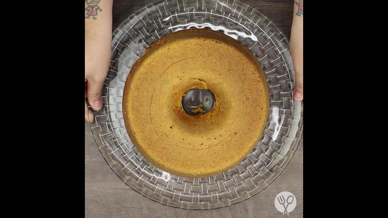 O melhor bolo de cenoura, pensa em um bolo maravilhoso