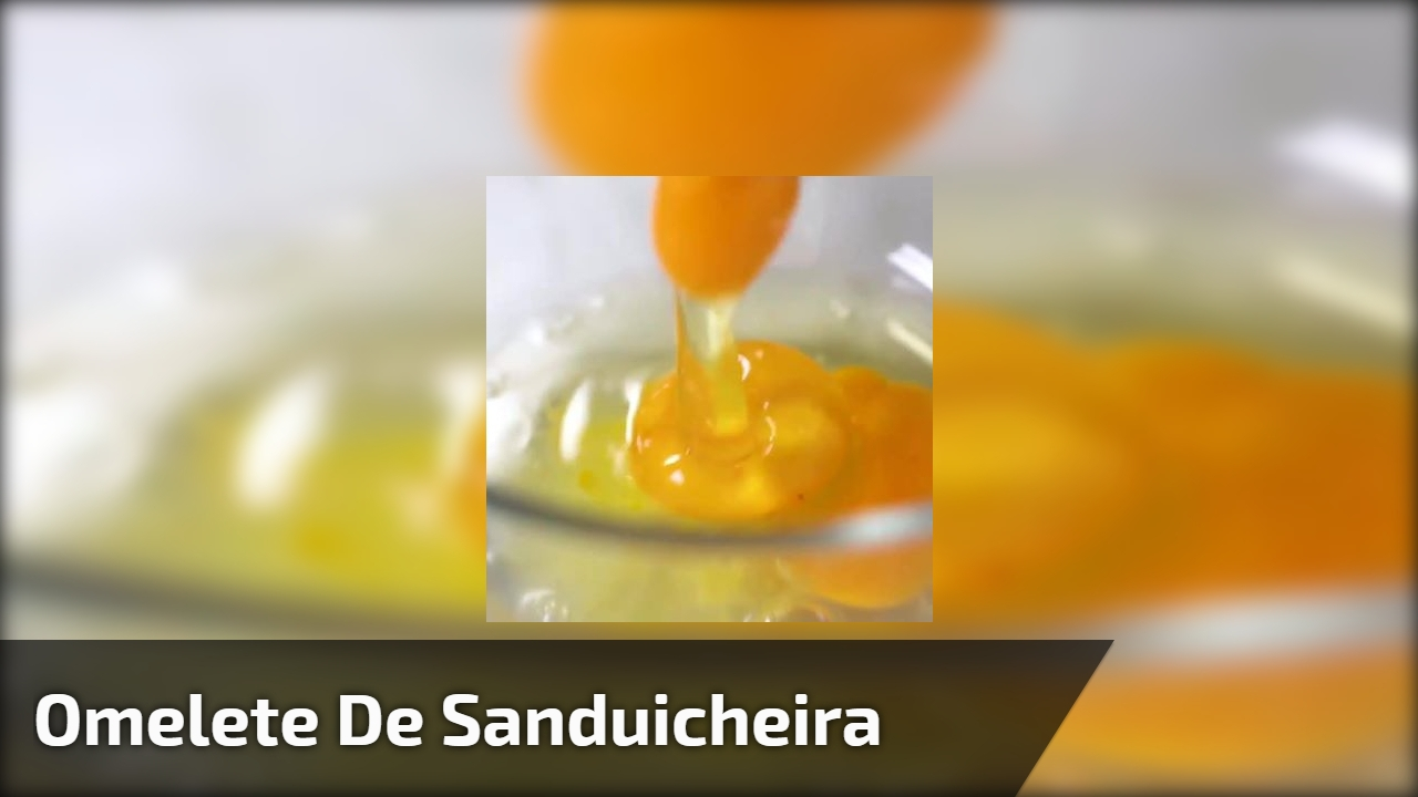 Omelete de sanduicheira