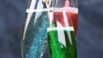 Palitos Cristalizados Para Drinks, Veja Que Ideia Genial!