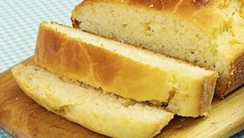 Pão Caseiro, Uma Receita Super Fácil E Não Precisa Sovar A Massa!