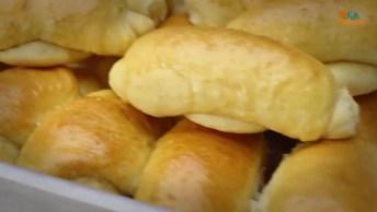 Pão De Leite Caseiro, Seu Café Da Tarde Muito Mais Gostoso!