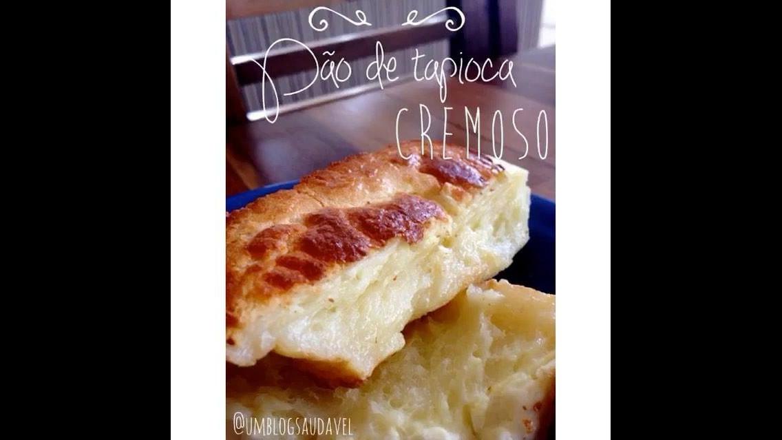 Pão de Tapioca Cremoso