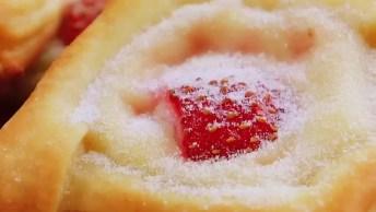 Passo A Passo De Torta De Morango, Umas Deliciosas Tortinhas Para Você!