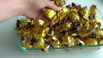Pavê De Bombom Ouro Branco, Uma Sobremesa Maravilhosa, Confira!