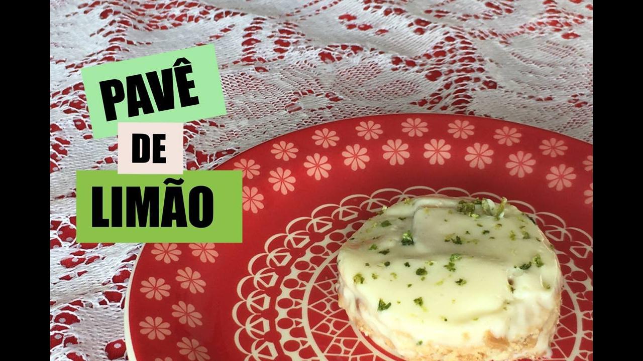 Pavê de Limão, uma sobremesa perfeita para servir aos domingos