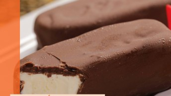 Picolé De Leite Ninho Com Casquinha De Chocolate, Que Delicia!