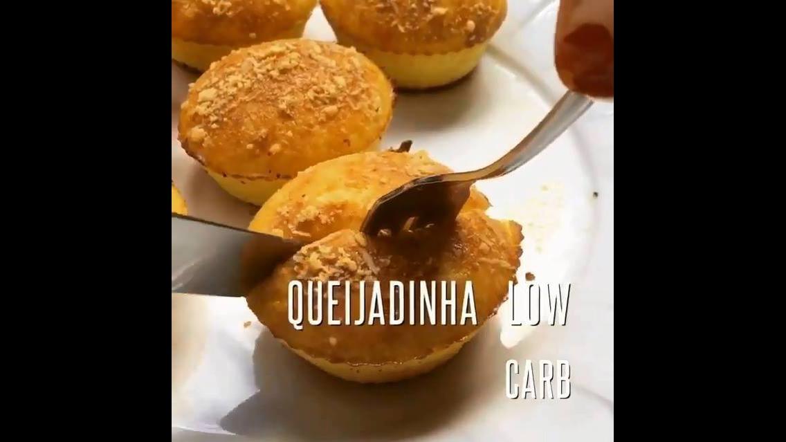 Queijadinha Low Carb