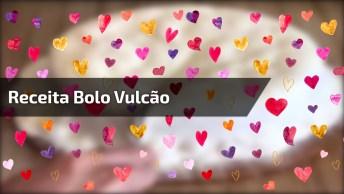 Receita Bolo Vulcão De De Leite Em Pó Com Creme De Avelã!