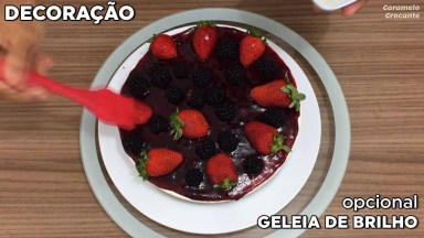 Receita Cheese Cake De Frutas Vermelhas, Fácil De Fazer Uma Delicia De Comer!