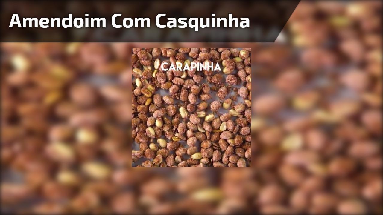 Amendoim com casquinha
