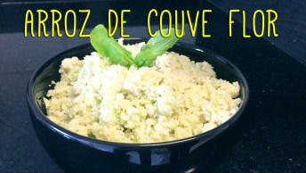Receita De Arroz De Couve-Flor, Fácil De Fazer Uma Delicia De Comer!