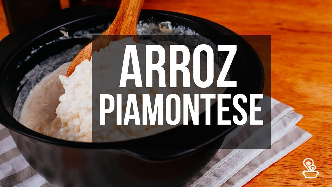 Receita de arroz Piamontese, um prato maravilhoso