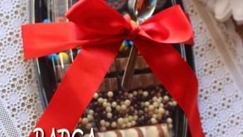 Receita De Barca De Chocolate Para Páscoa, Vale A Pena Conferir!