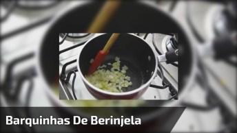 Receita De Barquinhas De Berinjela Com Salada De Grãos, Vale A Pena Conferir!