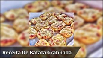 Receita De Batata Gratinada Perfeita Para Servir No Almoço De Domingo!