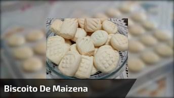 Receita De Biscoito De Maizena, As Crianças Vão Amar Essas Bolachinhas!