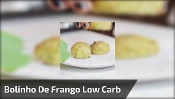 Receita De Bolinho De Frango Low Carb, Olha Só Que Delicia De Receita!